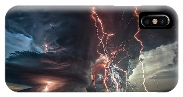 Electrical Storm IPhone Case