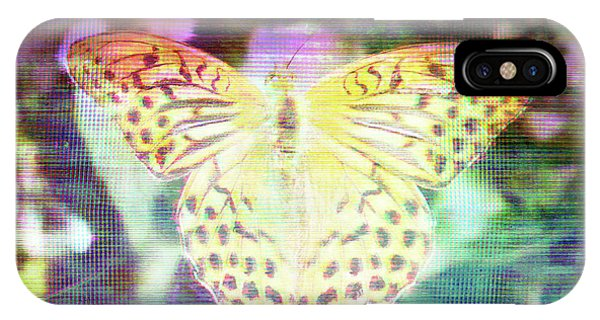 IPhone Case featuring the digital art Electronic Wildlife  by Bee-Bee Deigner
