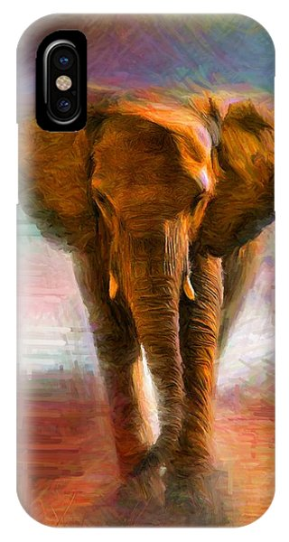 Elephant 1 IPhone Case