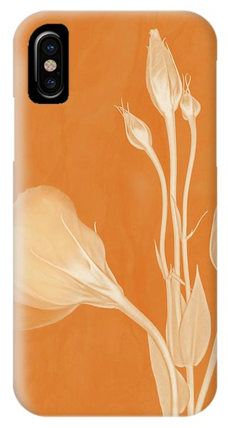 Elegance In Apricot IPhone Case