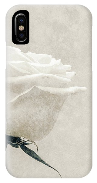 Elegance In White IPhone Case