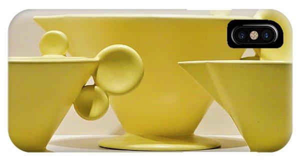 Elegant 1950s Ceramic Cups IPhone Case