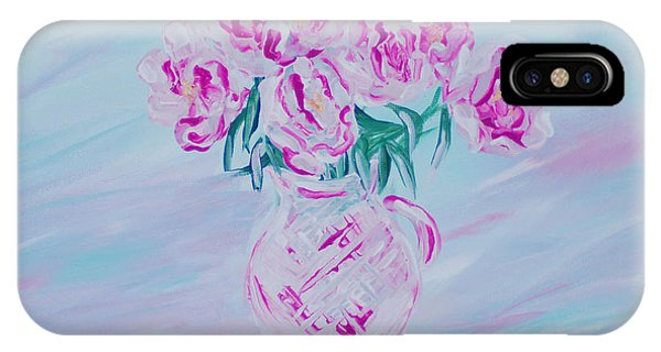Elegant Bouquet Of Peonies. Joyful Gift. Thank You Collection IPhone Case