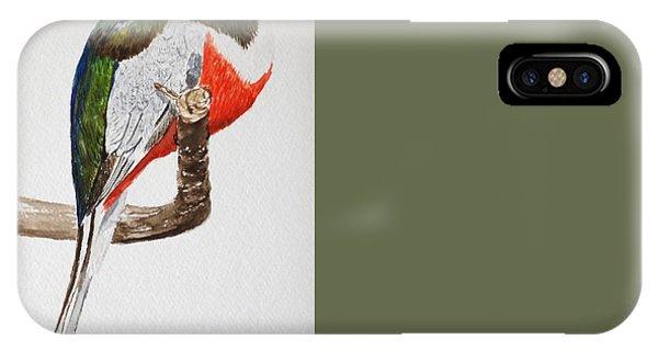 Elegant Trogon IPhone Case