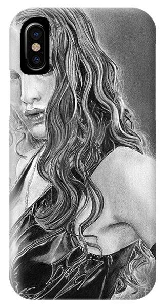 Shakira iPhone Case - Elektra by Gary Rudisill