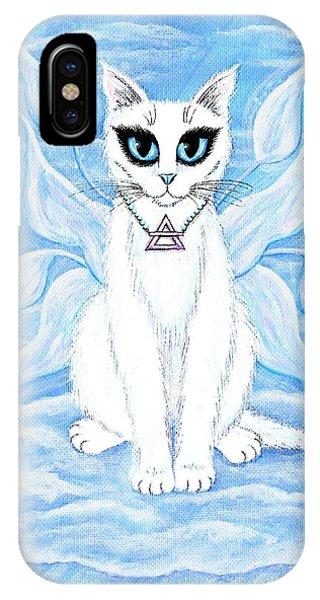 Elemental Air Fairy Cat IPhone Case