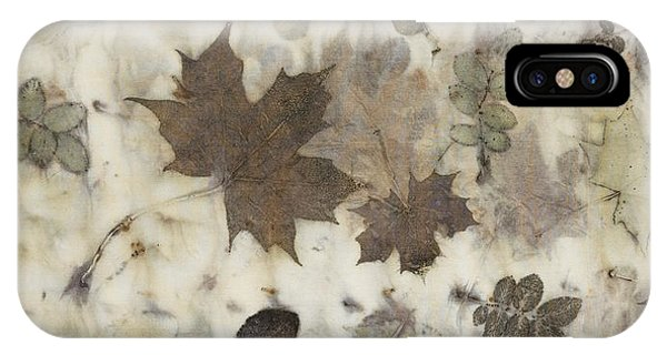 Elements Of Autumn IPhone Case