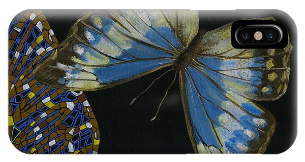 Elena Yakubovich - Butterfly 2x2 Top Right Corner IPhone Case
