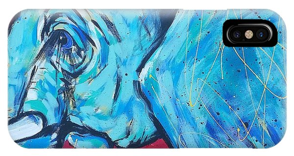 iPhone Case - Elephant #4 by Arrin Burgand