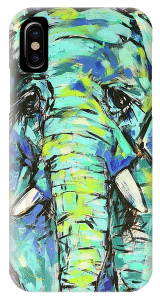 iPhone Case - Elephant by Arrin Burgand