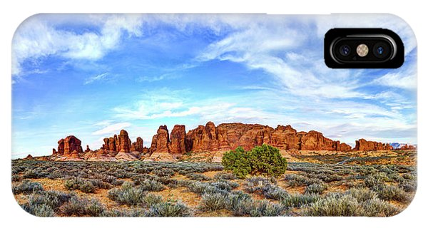 Foliage iPhone Case - Elephant Butte by Chad Dutson