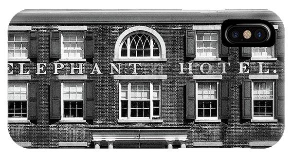 Elephant Hotel IPhone Case