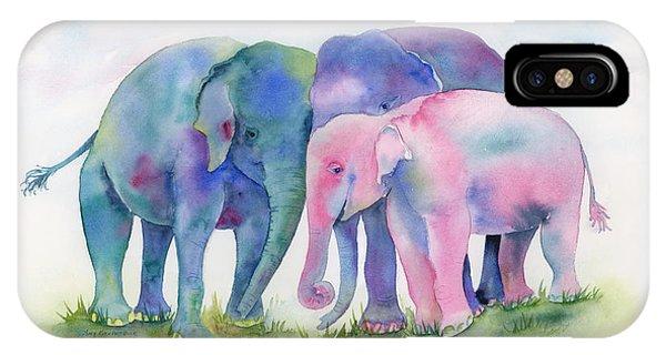 Elephant Hug IPhone Case