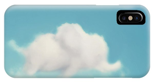 Weather iPhone Case - Elephant In The Sky by Amy Tyler