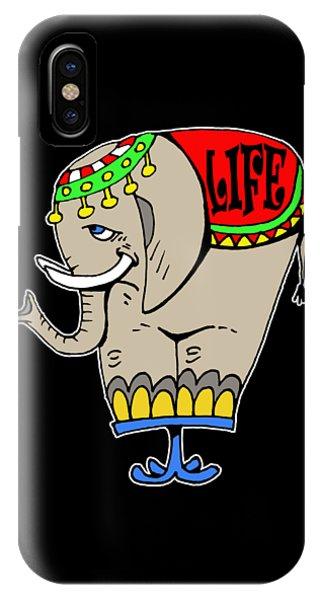 Elephant Life  IPhone Case