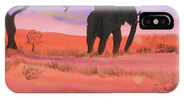 Elephant Spotlight IPhone Case