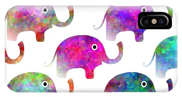 Elephant Parade - Children Pattern IPhone Case