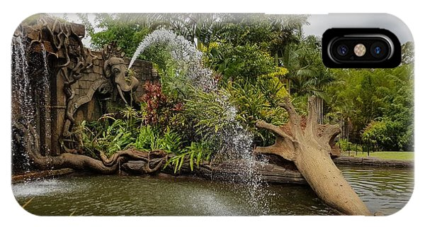 Elephant Waterfall IPhone Case