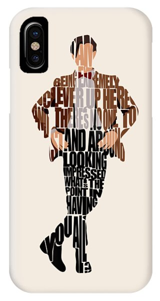 Doctor iPhone Case - Eleventh Doctor - Doctor Who by Inspirowl Design
