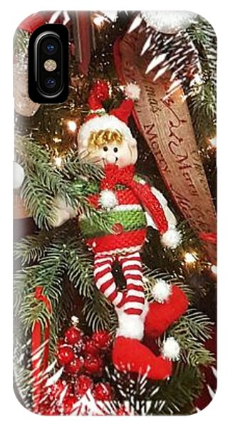 Elf In A Tree IPhone Case