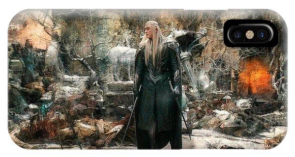 Elf King Thranduil  IPhone Case