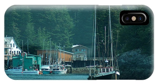 Elfin Cove Alaska IPhone Case
