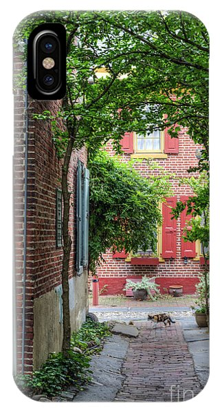 Calico Alley  IPhone Case