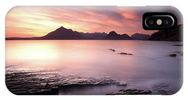 Elgol Sunset IPhone Case
