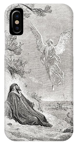 Elijah Nourished By An Angel. After A IPhone Case