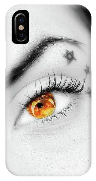 Eclipse And Lashes IPhone Case
