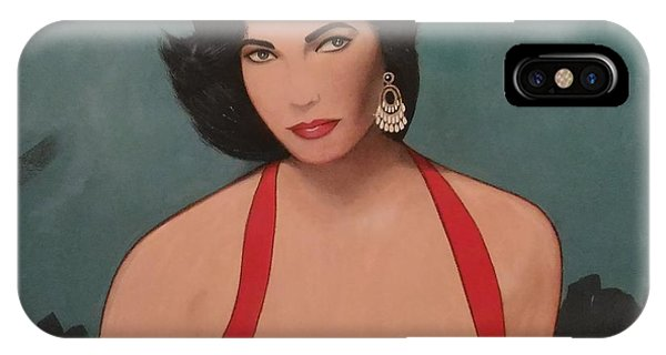 Elizabeth Taylor - Absolutely Beautiful IPhone Case
