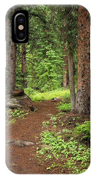Elk Camp Trail IPhone Case