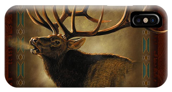 Elk Lodge IPhone Case
