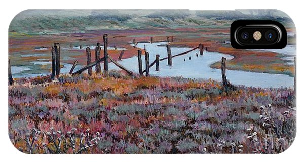 Elkhorn Slough Morning IPhone Case