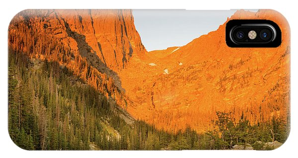 Rocky Mountain Np iPhone Case - Elks And Lakes by Kunal Mehra