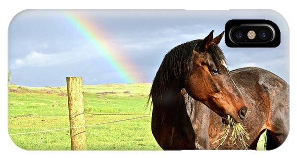 Ella And The Rainbows IPhone Case