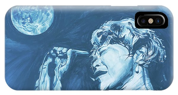 Ella Singing 'blue Moon' IPhone Case