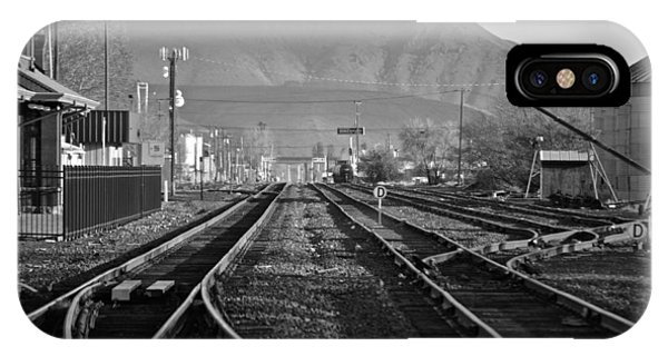 Ellensburg Station IPhone Case