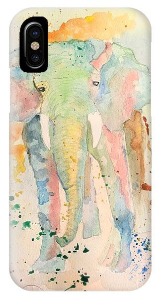IPhone Case featuring the painting Elley by Denise Tomasura