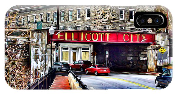 Bricks iPhone Case - Ellicott City by Stephen Younts