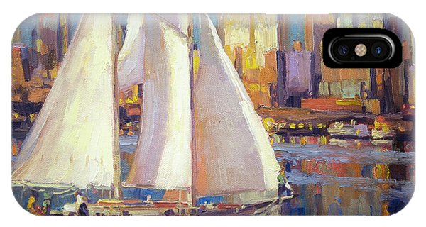Skyscraper iPhone Case - Elliot Bay by Steve Henderson