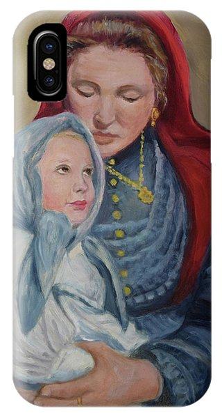 Ellis Island Madonna IPhone Case