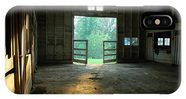 iPhone Case - Ellwood Barn 2 by Althea Sumpter