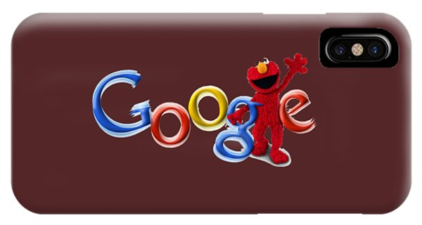 Elmo Google T-shirt IPhone Case