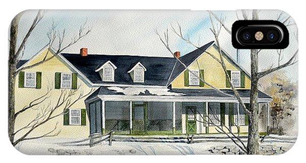 Elmridge Farm House IPhone Case