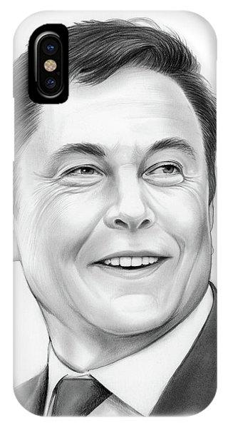 Inventor iPhone Case - Elon Musk by Greg Joens