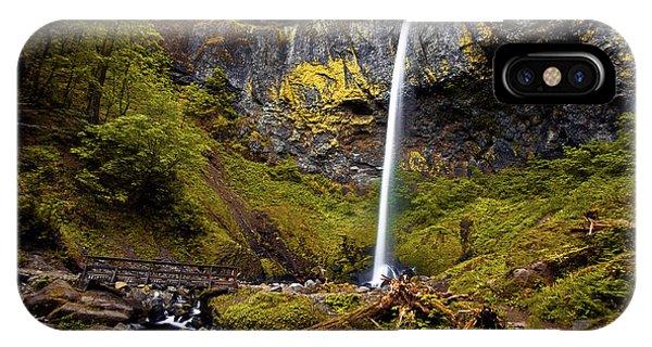 Elowah Falls Oregon IPhone Case