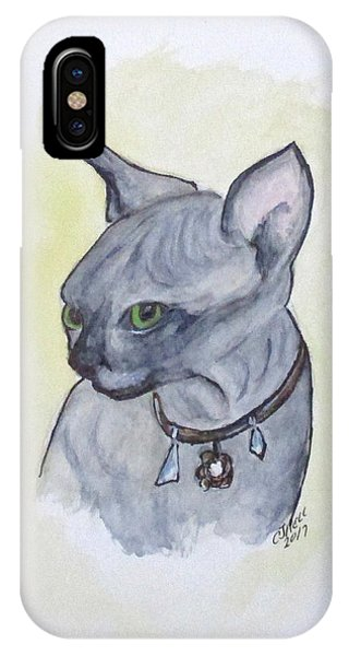 Else The Sphynx Kitten IPhone Case
