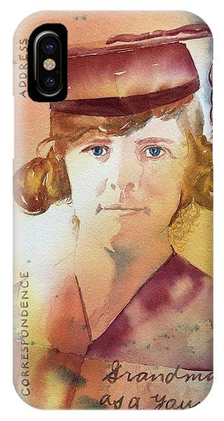 Elsie Circa 1915 IPhone Case