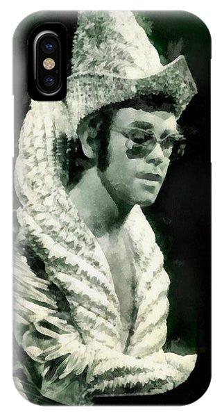 Elton John By John Springfield IPhone Case
